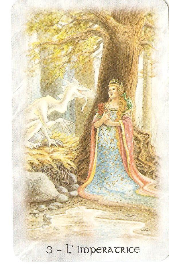 L'impératrice d'Imbolc, notre reine intérieure ou la féminité sacrée, symbole de la création qui est affilié à notre Terre-Mère