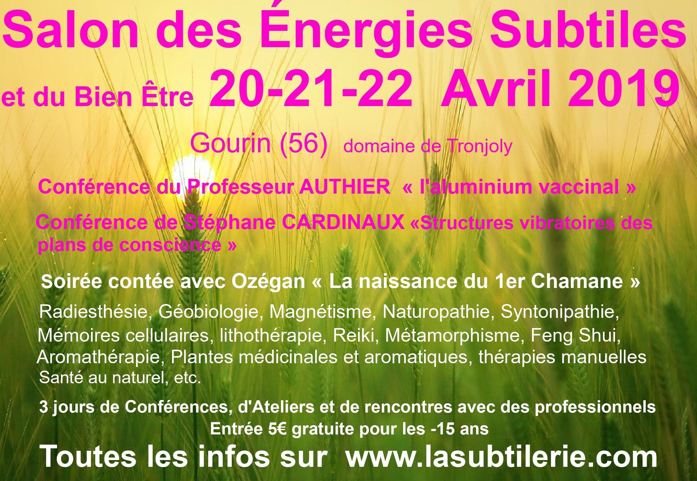 Salon des énergies subtiles et du bien-être édition 2019
