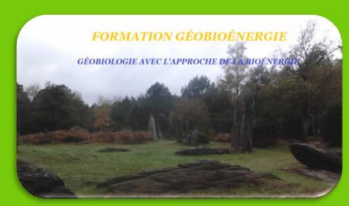 Formation géobioénergie - Bretagne - Ille et vilaine