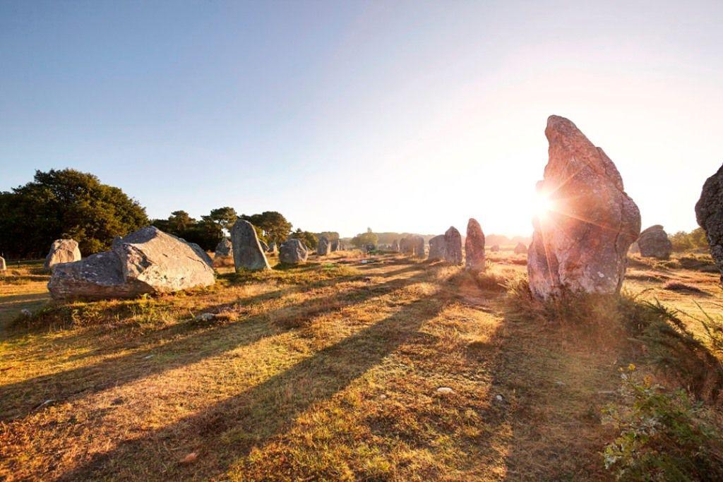 Carnac, lieu de prédilection DU solstice d'été.