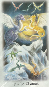 le chariot - carte du solstice d'été